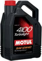 Масло Motul 4100 Turbolight 10w40 Technosynt 4л