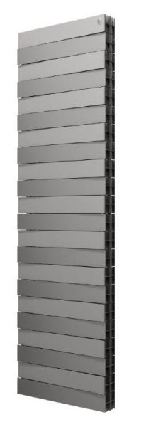Радиатор биметаллический Royal Thermo PianoForte Tower new/Silver Satin - 18 сек